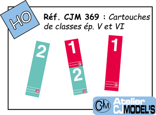 CJM 369 : Marquages de classes modernes