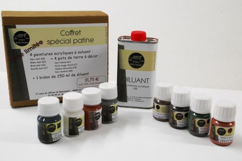 ABE 900 : Coffret patine
